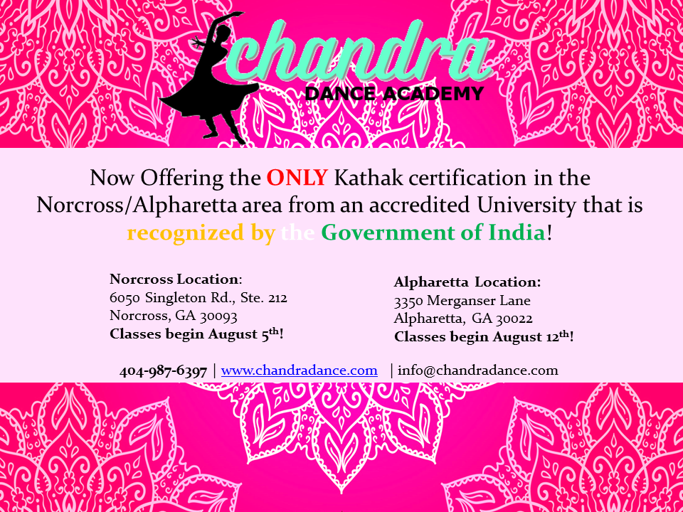 Certified Kathak!
